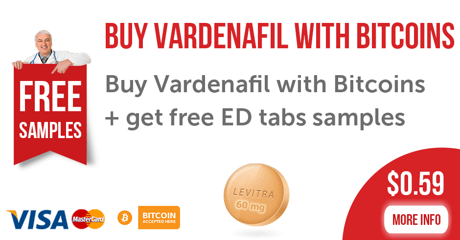 Buy Vardenafil with Bitcoins