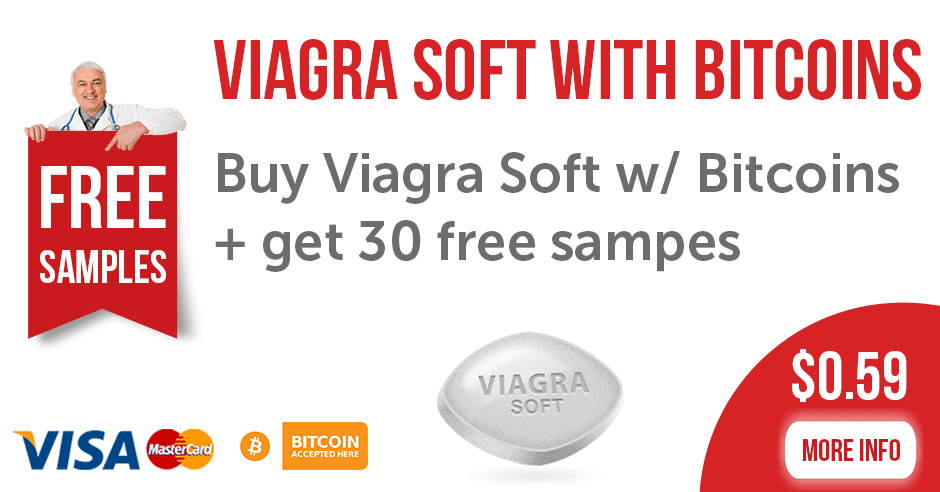 Viagra Soft with Bitcoins
