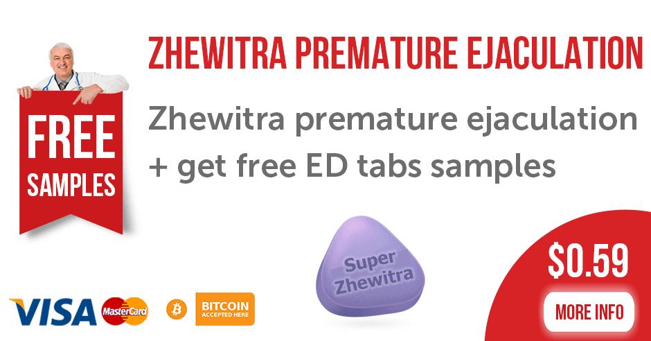 Zhewitra premature ejaculation
