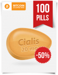 Generic Cialis 20 mg x 100 Tabs