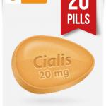 Generic Cialis 20 mg x 20 Tabs