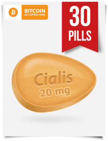 Generic Cialis 20 mg x 30 Tabs