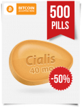 Cialis 40 mg 500 Pills Online