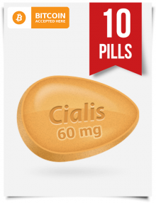 Cialis 60 mg 10 pills