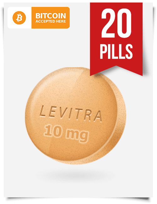 Buy Levitra Online 10 mg x 20 Tabs