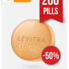 Buy Levitra Online 10 mg x 200 Tabs