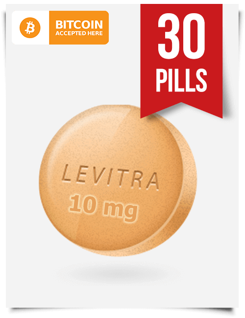 Buy Levitra Online 10 mg x 30 Tabs