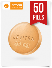 Buy Levitra Online 10 mg x 50 Tabs