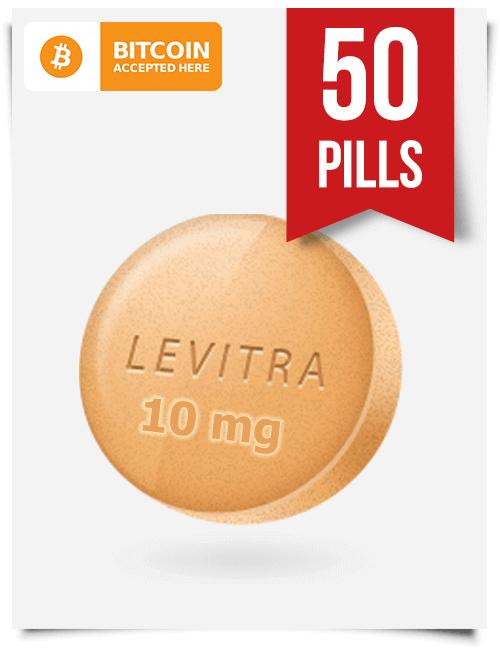 Buy Levitra Online 10 mg x 50 Tabs