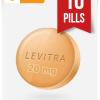 Buy Levitra Online 20 mg x 10 Tabs