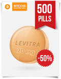 Buy Levitra Online 20 mg x 500 Tabs