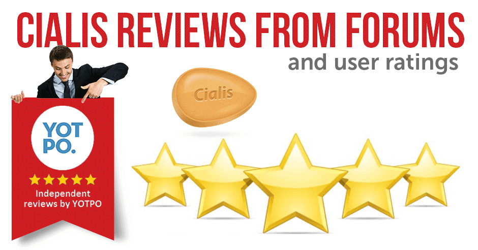 Cialis Reviews from Forums and User Ratings