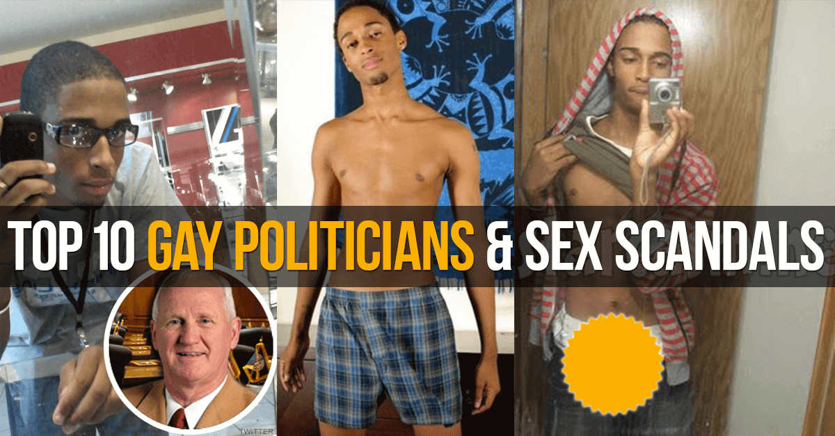 Top 10 Gay Politicians & Sex Scandals