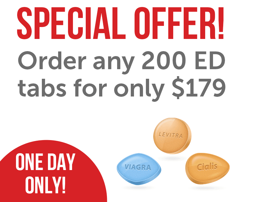 ED Combo Pack 200 Tabs
