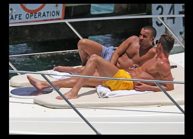 Sex Cristiano Ronaldo Yacht Vacation