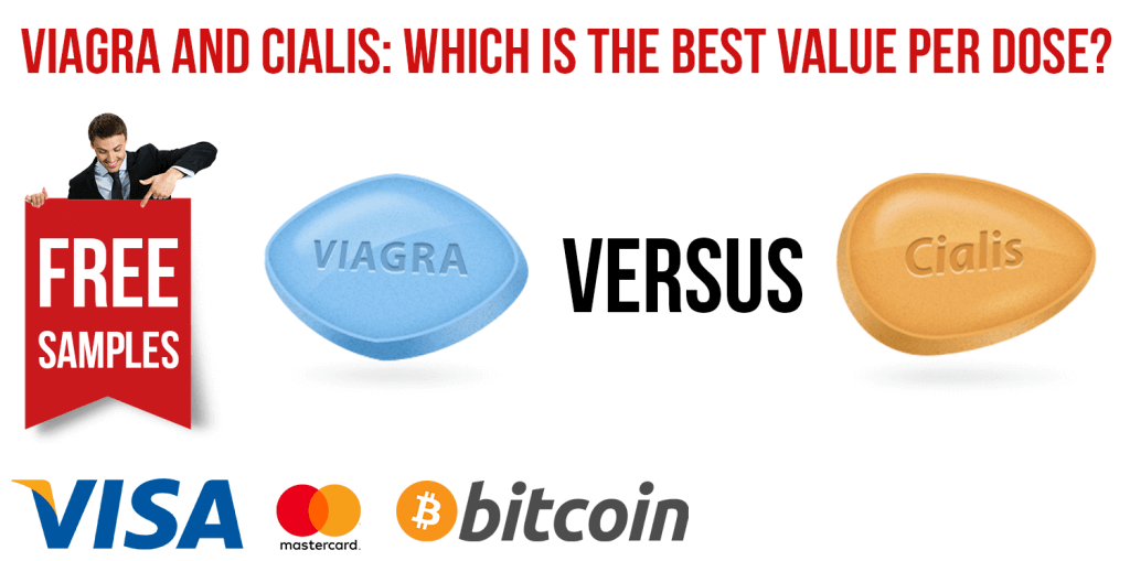 Viagra and Cialis: Which Value per Dose Is Best?