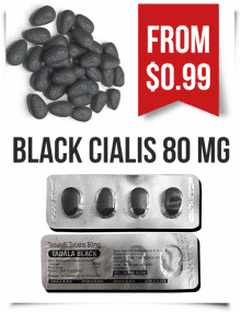 Black Cialis 80 mg pills