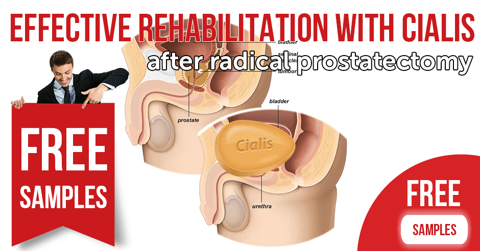 Effective Rehabilitation with Cialis (Tadalafil) After Radical Prostatectomy