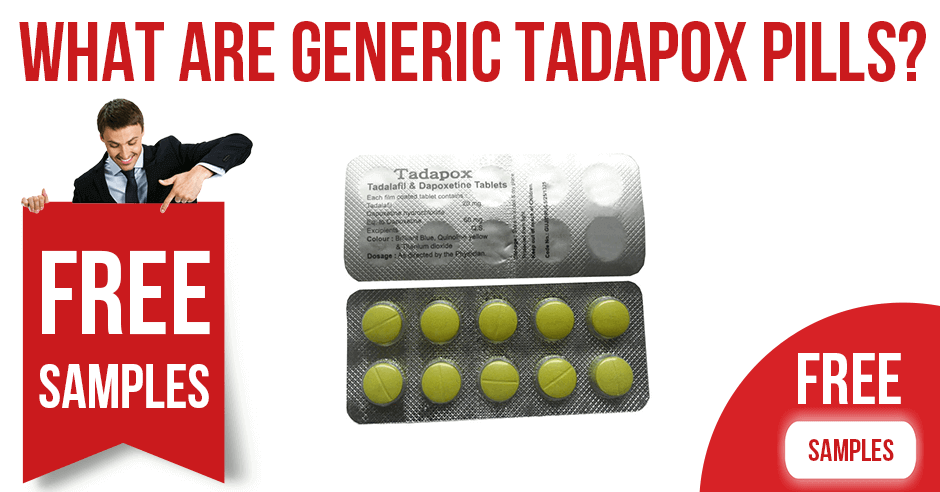 What are generic Tadapox pills