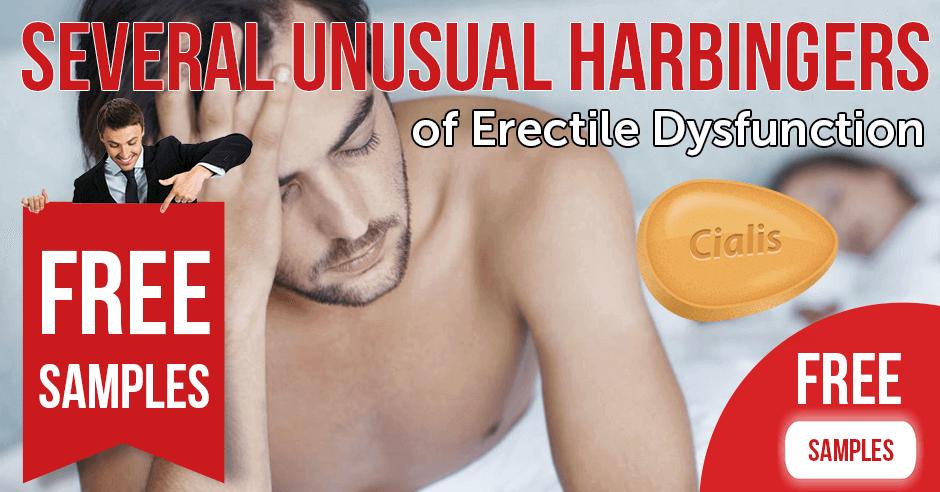 Several Unusual Harbingers of Erectile Dysfunction