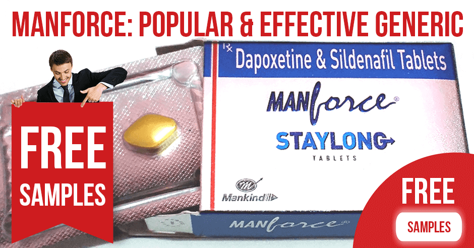 Manforce: popular and effective generic