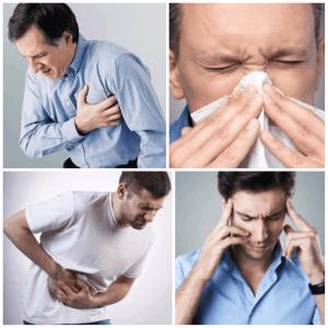 Side effects from sildenafil