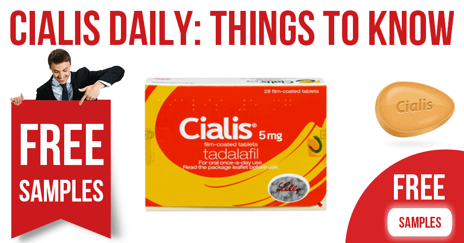 11 things you should remember about Cialis Daily