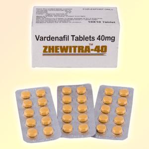 Zhewitra 40 mg vardenafil